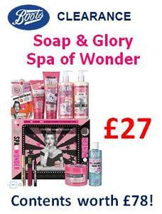 Soap & Glory Spa of Wonder £27 at Boots (Contents worth £78!)