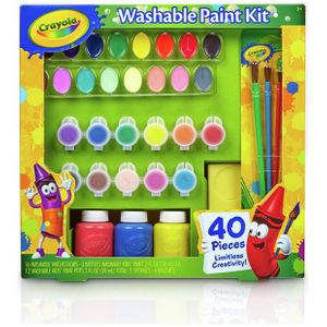 Crayola 40 Piece Washable Paint Kit