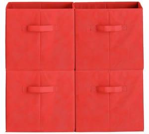 HOME Phoenix Set of 4 Storage Boxes - Various Colours
