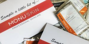 GET a FREE MONU NATURAL SKINCARE SAMPLE