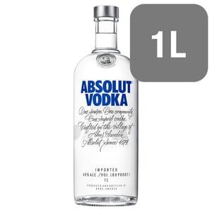 Absolut Swedish Vodka 1L