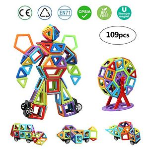 Code for Magnetic Building Blocks - Only £6.99 - 109pcs