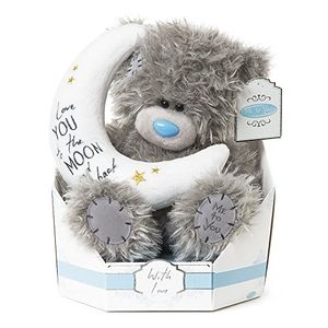9-Inch Tall Tatty Teddy Love You to the Moon and Back