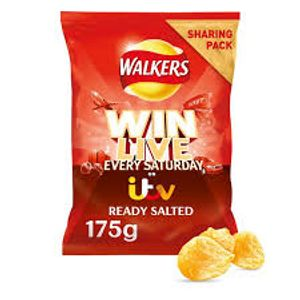 Walkers Ready Salted Sharing Bag 175g