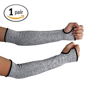 1 Pair of Cut Resistant Sleeves 14-Inch - Free Delivery