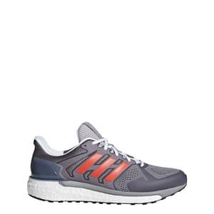Adidas Supernova ST Aktiv Running Shoes - Grey/Red Sizes 7.5 > 12.5