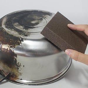 Caxmtu 3Pcs Magic Carborundum Brush Sanging Sponge for Pot Teapot Kettle