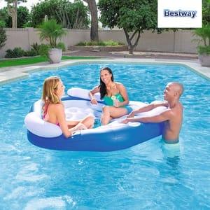 Bestway Pool Lounger X3 Island
