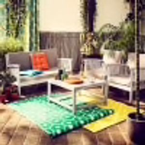 Hove Coffee Lounging Wooden Garden Furniture Set