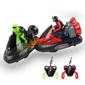 2 RC BUMPER CARS with Code