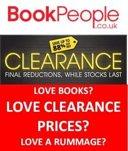 Books...Books...Books...CLEARANCE...CLEARANCE...Got to go...