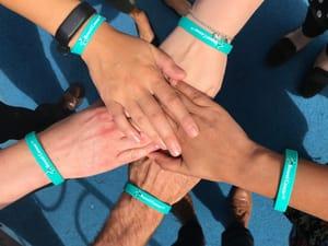 Order Your Free Bowel Cancer UK Wristband