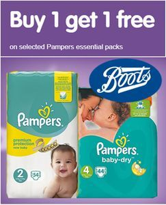 PAMPERS - Buy One Get One FREE at Boots
