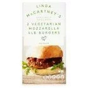 Linda McCartney Mozzarella Burger X2 227g