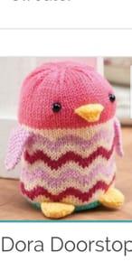 Free Dora Doorstop Knit Pattern