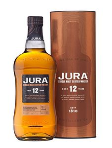 Jura 12 Year Old Whisky, 70 Cl