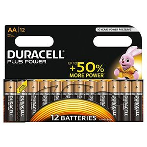 Duracell Plus Power AA Alkaline Batteries (12 Pack) £5.69 at Amazon. Save £4.30