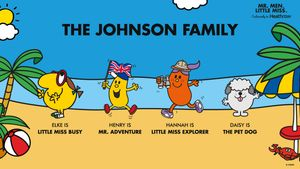 Create Your Family as Mr Men in Free Download