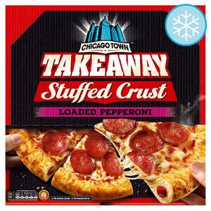 Chicago Town Large Takeaway Pepperoni Pizza 645G@ Tesco and Morrisons