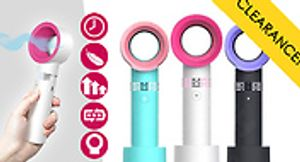 Bladeless Handheld Fan with Stand - 3 Colours