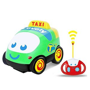 Cartoon RC Car with Music Remote