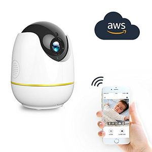 Home Security Camera,Compatible with Alexa Echo Show 360 Degree View