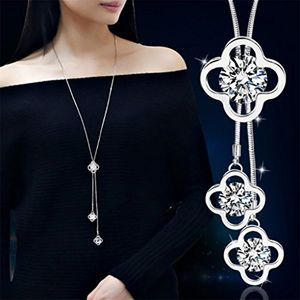 Fashion Long Flower Necklace FREE DELIVERY