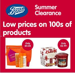 Boots Summer CLEARANCE - Fantastic Prices!