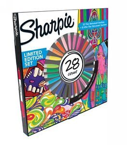 Sharpie Pen & Writing Instrument Permanent Marker Pack of 28 WHSmith-Outlet