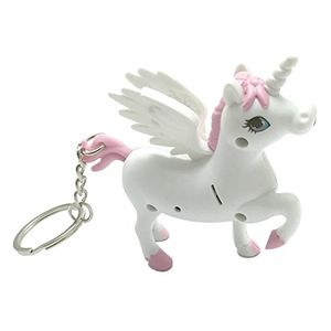 Unicorn Led Key Ring