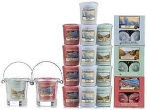 Yankee Candle 53 Piece Coastal Living Tea-Light, Votive, Holder Gift Set