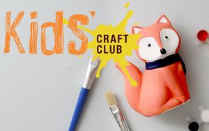 Kids' Craft Club Summer Holidays: Foam Masks 6th, 8th and 10th August