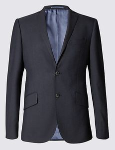 90% off to Big & Tall Navy Slim Fit Wool Jacket