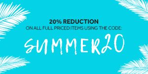 20% Reduction on All Full Priced Items