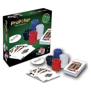 ProPoker 120 Chip Poker Starter Set