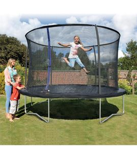 Cheap Trampolines with Enclosures at Studio 8/10/12 Ft