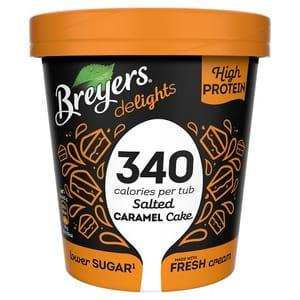 Breyers Salted Caramel Cake Low Calorie Ice Cream 500Ml