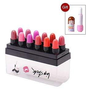 12 Colors New Makeup Lipstick Lip Color Long Lasting Lip Gloss