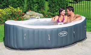 Lay-Z-Spa Hot Tub, Siena Airjet Inflatable Spa