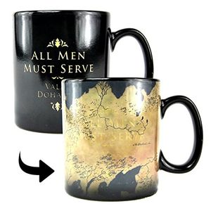 Game of Thrones Heat Changing Mug - Westeros Map