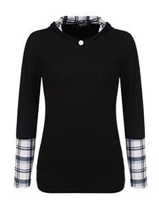 Long Sleeve Hoodies Pullover Sweatshirt Tops