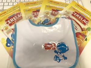 Free Nestlé Baby Bib & Cereal