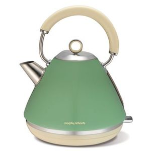 Morphy Richards - Sage 'Accents Retro' Kettle