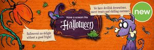 Wilko Halloween Shop Now Open with Items from 50p