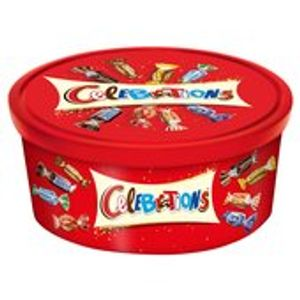 Celebrations 650g £5 or 2 for £8