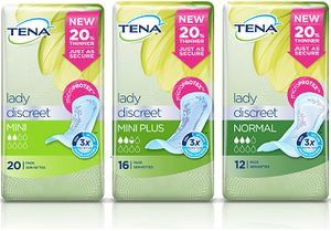 Order Your Free TENA Lady Discreet Product Sample
