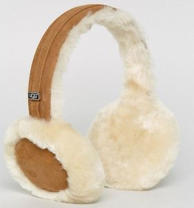 UGG Classic Wired Sheepskin Chestnut Earmuff Headphones
