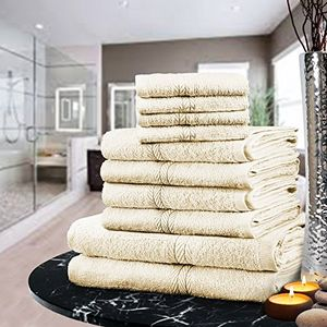 GREAT VALUE LUXURY TOWEL BALE SET 100% EGYPTIAN COTTON Free Delivery