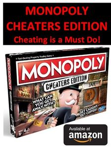 Monopoly for CHEATERS Edition (Only £16.49)