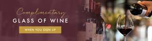 Free Glass of Wine – Miller & Carter